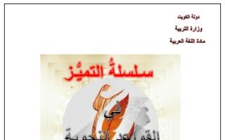 القواعد النحوية عربي للصف الثامن إعداد سلامة صباح