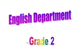 مذكرة انجليزية الوحدة unit1 للصف الثاني مدرسة هدية