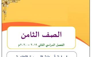 حل الوحدة الثانية ابداعات وابتكارات عربي اعداد وجيه فوزي الهمامي