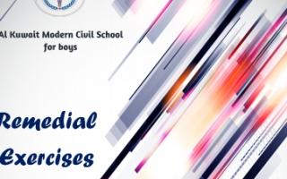 تدريبات الوحدتين 7-8 انجليزي للصف الثاني عشر الفصل الثاني