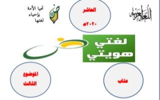 مذكرة عتاب عربي للصف العاشر الفصل الثاني أ.محمد قاعود الشربيني