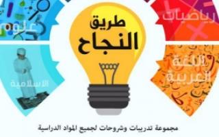 مذكرة تربية إسلامية للصف السادس الفصل الاول
