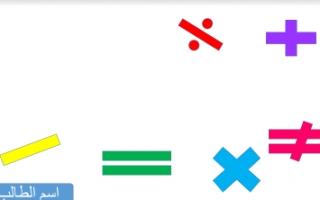تقرير رياضيات للصف الخامس الكسر في ابسط صورة