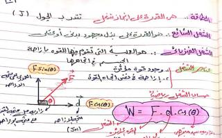 مراجعة فيزياء للصف الثاني عشر اعداد وليد الرشيدي الفصل الثاني