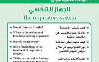حل وحدة الجهاز التنفسي علوم ثامن فصل ثاني
