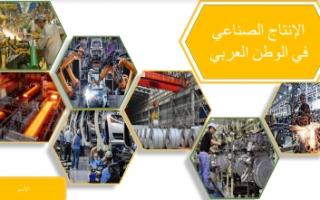 بوربوينت اجتماعيات سابع الانتاج الصناعي في الوطن العربي