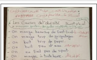 موضوعات التعبير فرنسي للصف الثاني عشر أدبي الفصل الثاني إعداد أ.شعبان