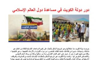 تقرير اجتماعيات للصف الثامن دور دولة الكويت في مساعدة دول العالم الإسلامي