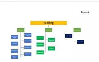 تقرير انجليزي للصف العاشر عن القراءة