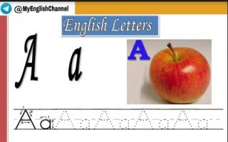 تعلم حروف الانجليزية للأطفال الصف الاول الفصل الأول .