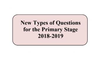 نماذج على أنماط الأسئلة الجديدة إنجليزي للمرحلة الابتدائية 2018 2019