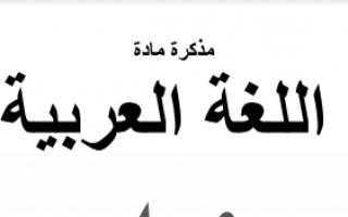 مذكرة العلا لغة العربية للصف الثاني عشر الفصل الاول