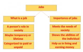 jobs تقرير انجليزي للصف السابع