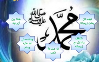 تقرير صفات نبينا محمد صلى الله عليه وسلم إسلامية للصف السابع