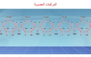 تقرير كيمياء للصف الحادي عشر المركبات العضوية